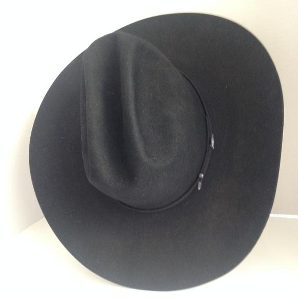 cce268ce8 Resistol Cowboy Hat 5X Beaver Sz 6 3/4 Long Oval NWT